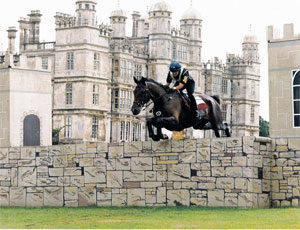 Aladdin and Natalie at Burghley