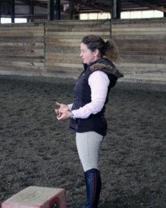 Natalie Instructing